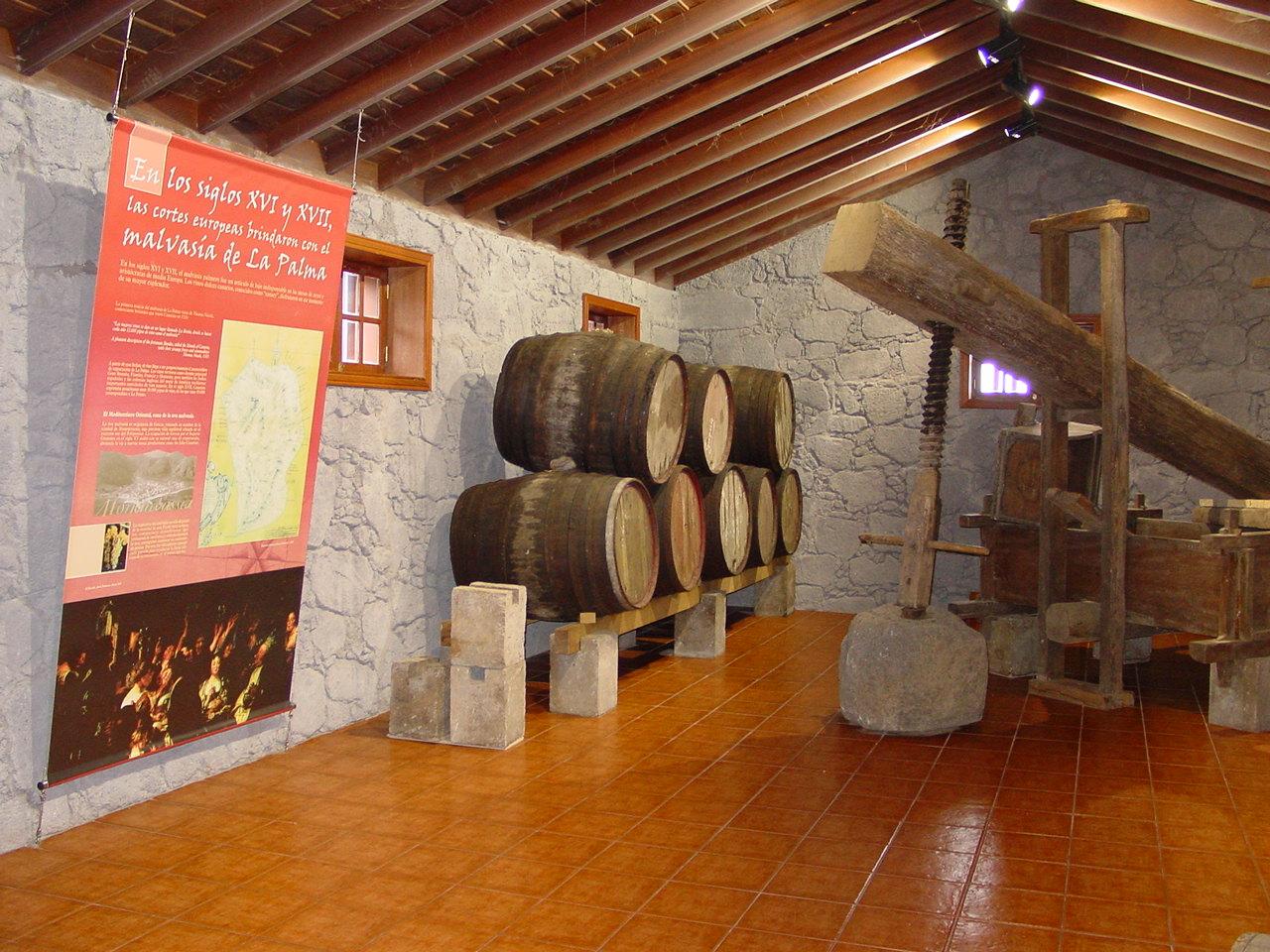 Centro de Visitantes Bodega de Barlovento, La Palma
