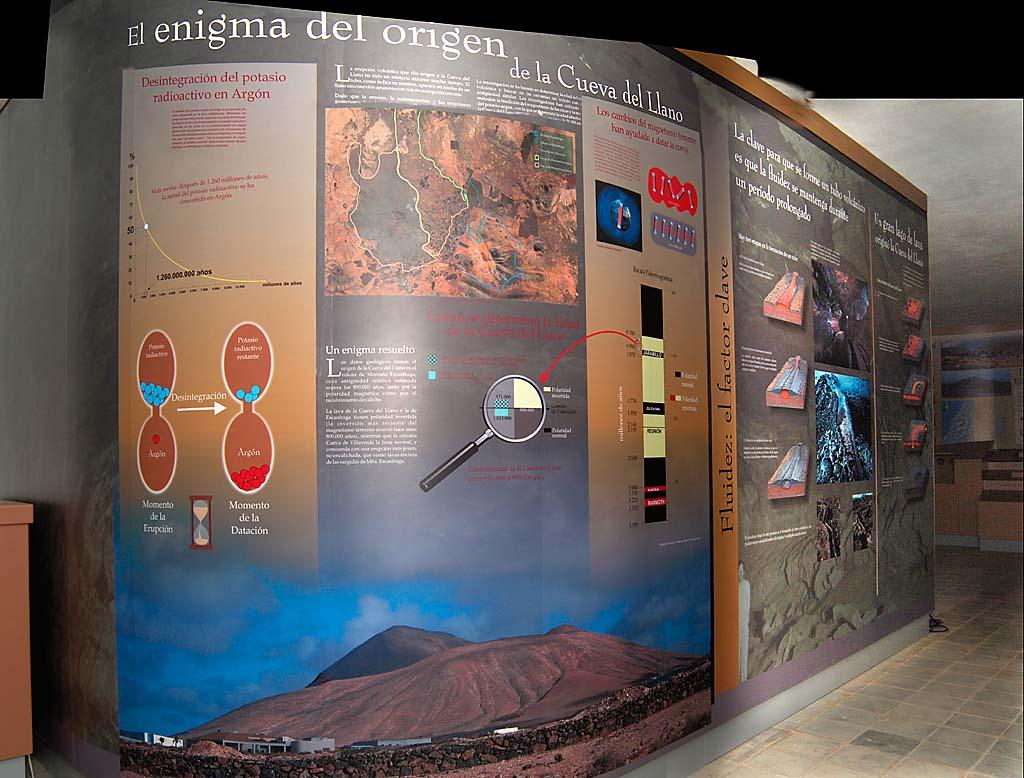 Centro de Visitantes Cueva del Llano, Villaverde (La Oliva), Fuerteventura