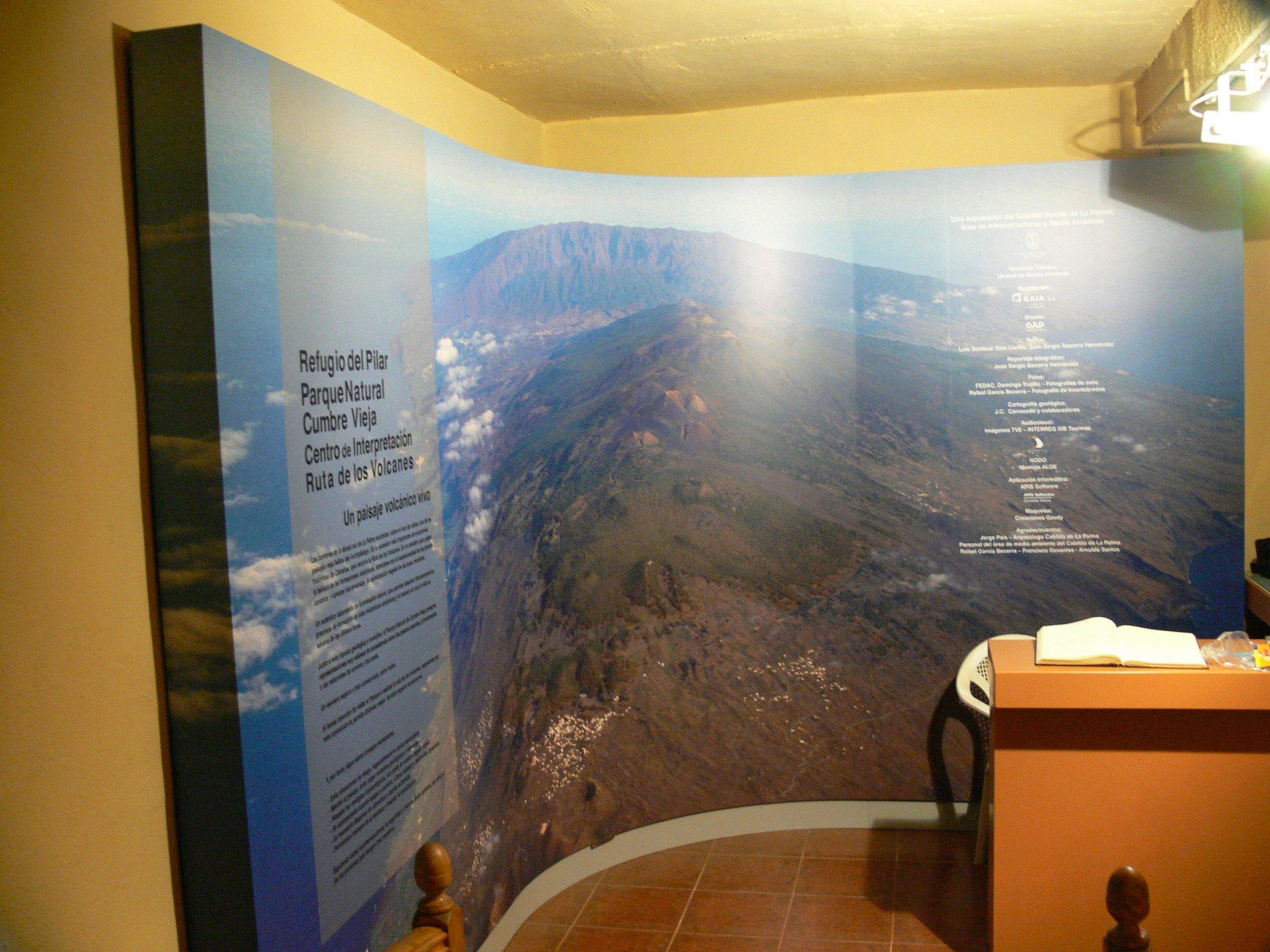 Centro de Visitantes Cumbre Vieja, El Paso, La Palma
